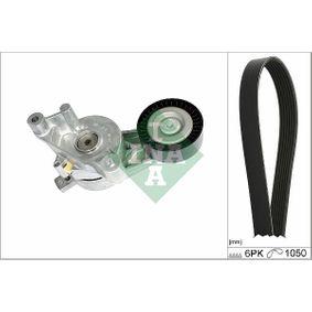 Passat B6 2.0TDI 16V 4motion Keilrippenriemensatz INA 529 0468 10 (2.0 TDI 16V 4motion Diesel 2008 CBAB)