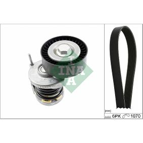 Passat B6 2.0TDI Keilrippenriemensatz INA 529 0475 10 (2.0 TDI Diesel 2010 CBAA)