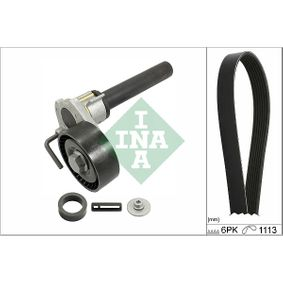 Passat B6 2.0FSI Keilrippenriemensatz INA 529 0514 10 (2.0 FSI Benzin 2010 CBFA)
