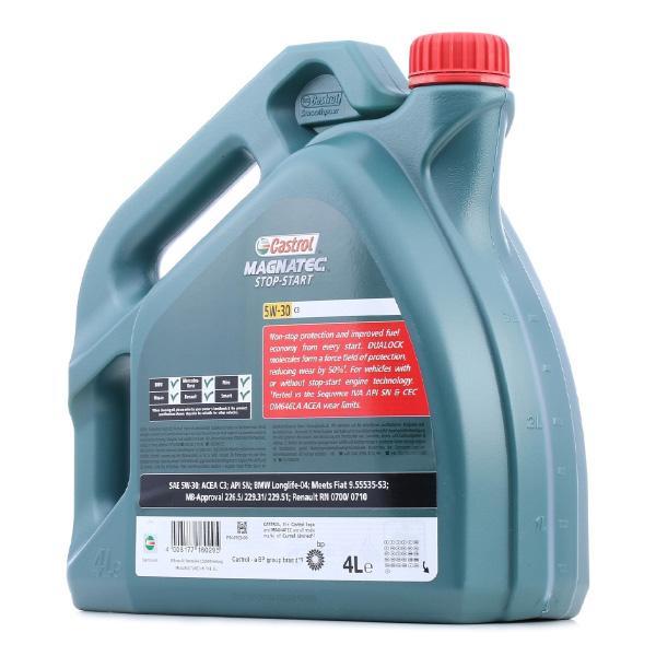 CASTROL Magnatec, Stop-Start C3 15D610 Olio motore