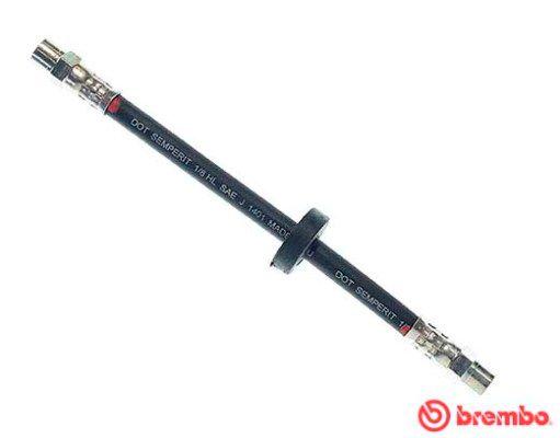BREMBO  T 85 019 Bromsslang L: 225mm, Gängmått 1: F10X1, Gängmått 2: F10X1