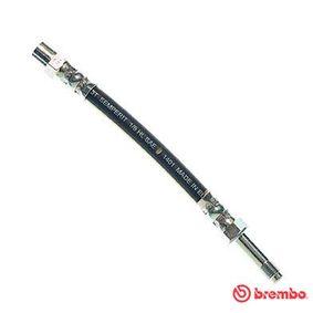 Bremsschlauch Länge: 185mm, Gewindemaß 1: F10X1, Gewindemaß 2: M10X1 mit OEM-Nummer 7M0.611.776C