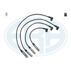 Zündleitungssatz Silikon, Länge: 760mm, Länge: 760mm, Länge 3: 580mm, Länge 4: 400mm mit OEM-Nummer 06A 905 409L