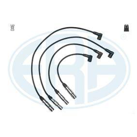 Zündleitungssatz Silikon, Länge: 760mm, Länge: 760mm, Länge 3: 580mm, Länge 4: 400mm mit OEM-Nummer 06A 905 409 P