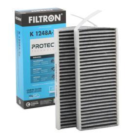 Filter, Innenraumluft Länge: 239mm, Breite: 108mm, Höhe: 20mm mit OEM-Nummer 27 27 736 08R