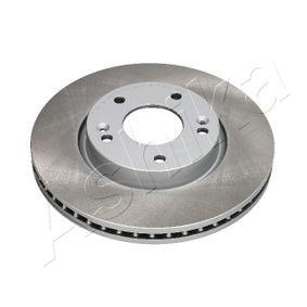 Bremsscheibe Bremsscheibendicke: 26mm, Ø: 279,8mm mit OEM-Nummer 517122C000