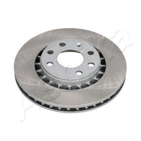 Bremsscheibe Bremsscheibendicke: 23,8mm, Ø: 255,8mm mit OEM-Nummer 5.69.008