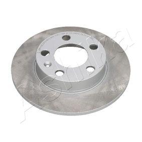 Bremsscheibe Bremsscheibendicke: 9mm, Lochanzahl: 5, Ø: 232mm mit OEM-Nummer 3496009