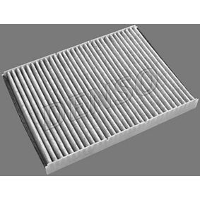 Filter, interior air Length: 282mm, Width: 206mm, Height: 30mm with OEM Number 1H0 091 800SE