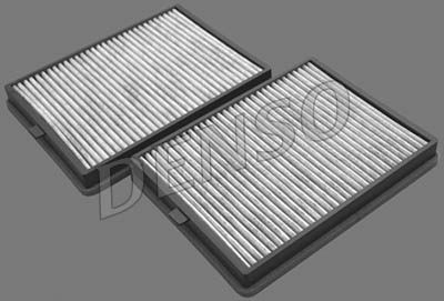 DENSO  DCF015K Filter, Innenraumluft Länge: 266mm, Breite: 201mm, Höhe: 30mm