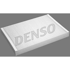 DENSO Filter, Innenraumluft DCF021P für AUDI A4 (8E2, B6) 1.9 TDI ab Baujahr 11.2000, 130 PS