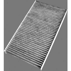 Filter, Innenraumluft Länge: 290mm, Breite: 160mm, Höhe: 30mm mit OEM-Nummer 46442422