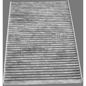 Filter, Innenraumluft Länge: 240mm, Breite: 170mm, Höhe: 17mm mit OEM-Nummer 60 653 642
