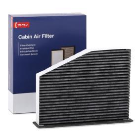 Filter, Innenraumluft Länge: 269mm, Breite: 207mm, Höhe: 33mm mit OEM-Nummer 1K1 819 653 B