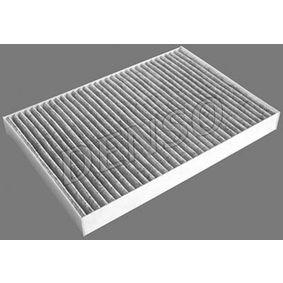 Filter, Innenraumluft Länge: 300mm, Breite: 204mm, Höhe: 30mm mit OEM-Nummer 4B0 819 439 C