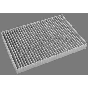 Filter, Innenraumluft Länge: 309mm, Breite: 213mm, Höhe: 30mm mit OEM-Nummer 04596501AB