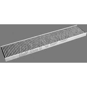 Filter, Innenraumluft Länge: 536mm, Breite: 111mm, Höhe: 30mm mit OEM-Nummer 7M0 091 800