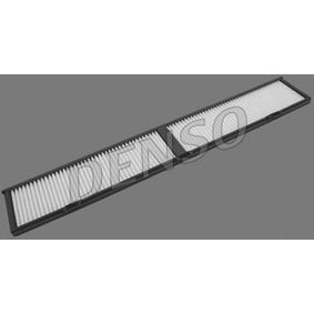 Filter, Innenraumluft Länge: 832mm, Breite: 122mm, Höhe: 20mm mit OEM-Nummer 3401 703