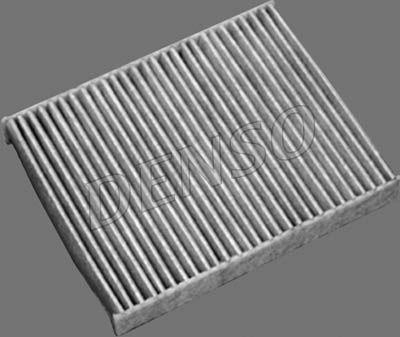 DENSO  DCF105K Filter, Innenraumluft Länge: 240mm, Breite: 189mm, Höhe: 35mm