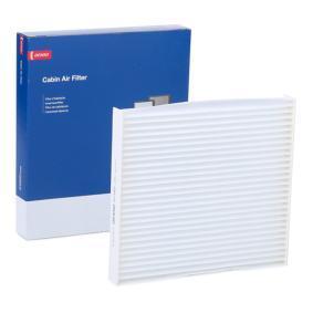 Filter, Innenraumluft Länge: 216mm, Breite: 198mm, Höhe: 25mm mit OEM-Nummer GS1D61P11