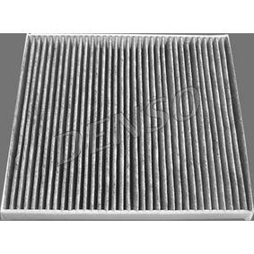Filter, Innenraumluft Länge: 258mm, Breite: 231mm, Höhe: 30mm mit OEM-Nummer 132 114 731