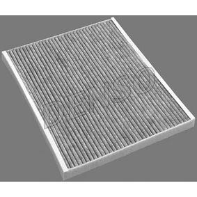 Filter, Innenraumluft Länge: 265mm, Breite: 215mm, Höhe: 21mm mit OEM-Nummer 1808012