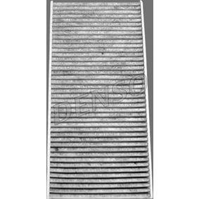 Filter, Innenraumluft Länge: 315mm, Breite: 150mm, Höhe: 40mm mit OEM-Nummer 6447.TC