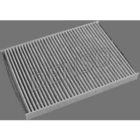 Filter, Innenraumluft Länge: 279mm, Breite: 207mm, Höhe: 25mm mit OEM-Nummer 8L0091800