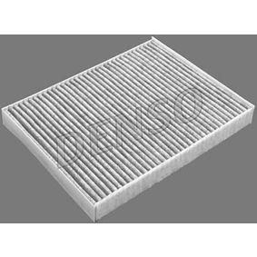 DENSO Filter, Innenraumluft DCF234K für AUDI Q7 (4L) 3.0 TDI ab Baujahr 11.2007, 240 PS