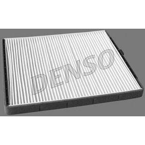 Filtro, aire habitáculo Long.: 249mm, Ancho: 204mm, Altura: 19mm con OEM número EC96 539 649