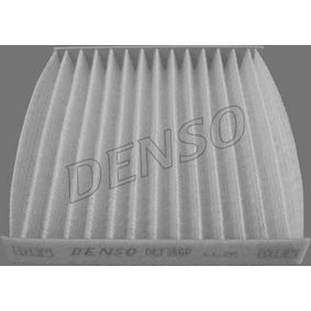 DENSO  DCF356P Filter, interior air Length: 208,5mm, Width: 195mm, Height: 29,5mm