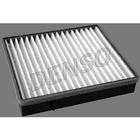 Filter, Innenraumluft Länge: 235mm, Breite: 224mm, Höhe: 40mm mit OEM-Nummer 1638350247