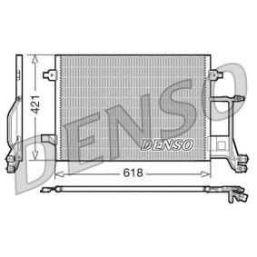 DENSO Kondensator, Klimaanlage DCN02013 für AUDI A6 (4B2, C5) 2.4 ab Baujahr 07.1998, 136 PS