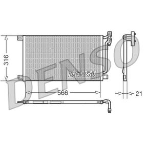 Kondensator, Klimaanlage DCN05003 3 Limousine (E46) 320d 2.0 Bj 2001