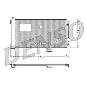 Kondensator, Klimaanlage Netzmaße: 770x371x16, Kältemittel: R 134a mit OEM-Nummer 203-500-1354
