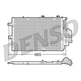 Kondensator, Klimaanlage Netzmaße: 665x381x16, Kältemittel: R 134a mit OEM-Nummer 18 50 089