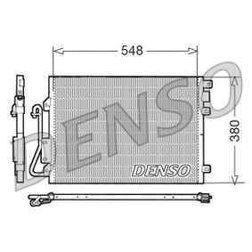 Kondensator, Klimaanlage DCN23008 CLIO 2 (BB0/1/2, CB0/1/2) 1.5 dCi Bj 2004