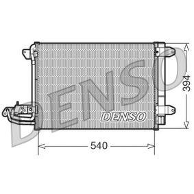 Kondensator, Klimaanlage Netzmaße: 550x403x16, Kältemittel: R 134a mit OEM-Nummer 1K0 820 411 H
