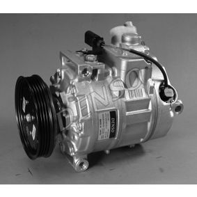 Compresor, aire acondicionado Polea Ø: 110mm con OEM número 8E0260805AB