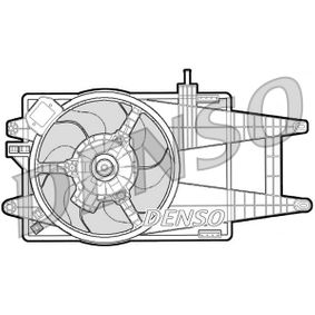 Fan, radiator DER09040 PUNTO (188) 1.2 16V 80 MY 2006