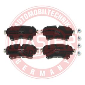 Brake Pad Set, disc brake Width: 129mm, Height: 58,9mm, Thickness: 17,7mm with OEM Number 8W0 698 451 G