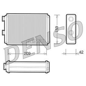 Heat Exchanger, interior heating DRR09070 PUNTO (188) 1.2 16V 80 MY 2002