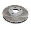 JAPKO Vorderachse, belüftet, lackiert 60194C