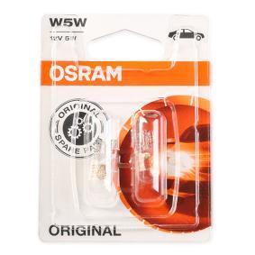 OSRAM Glühlampe, Blinkleuchte 2825-02B für AUDI 100 (44, 44Q, C3) 1.8 ab Baujahr 02.1986, 88 PS