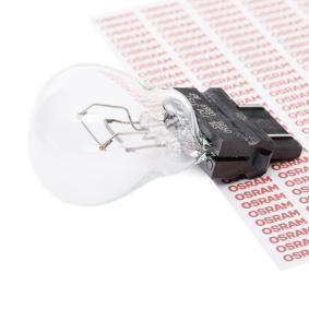 Bulb, indicator P27/7W, W2,5x16q, 12V, 27/7W 3157