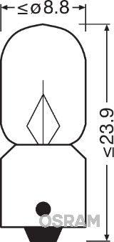 Artikelnummer 3796 OSRAM Preise