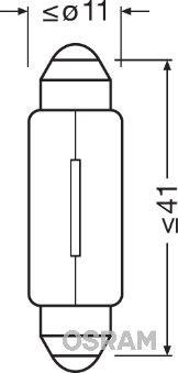 Artikelnummer 6413 OSRAM Preise