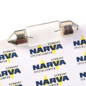 Bulb, licence plate light 12V 5W, C5W, SV8,5 T10,5x38 171253000 FORD FOCUS, FIESTA, MONDEO