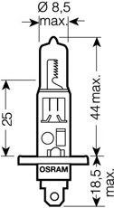 Bulb, spotlight OSRAM 64150ULT-02B rating