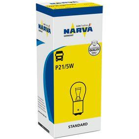 Glühlampe, Blinkleuchte P21/5W, BAY15d, 24V, 21/5W 179253000